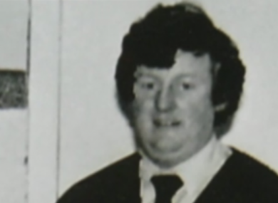 File picture of Kenneally in the 1980s.