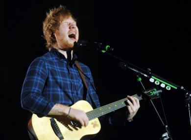 Ed Sheeran is performing in Galway this weekend.