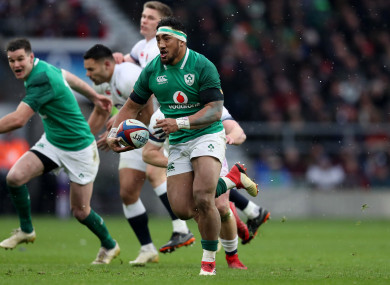 Aki is expected to be fit for Ireland's first Test in Australia.