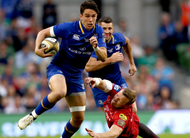 Carbery has made 37 appearances for Leinster.