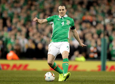 O'Shea has represented Ireland in every calendar year since 2001.