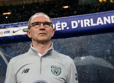 O'Neill at the Stade de France.