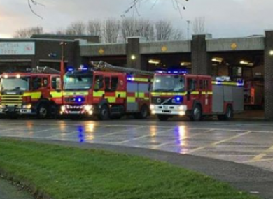 Fire crews from Dundalk attended the fire.