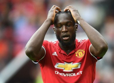 Lukaku  improved  but mocked by Belgian team-mate over first touch 7796fe598