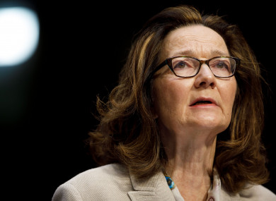Gina Haspel testifies at her confirmation hearing before the Senate Intelligence Committee on Capitol Hill in Washington DC last week.