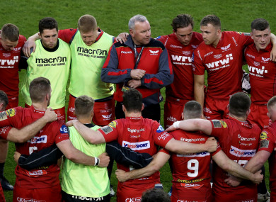 Scarlets reached the Champions Cup semi-finals and Pro14 final this season.
