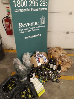 The seized products