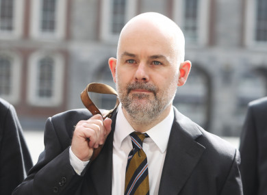 Irish Times journalist Conor Lally