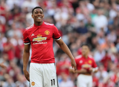 Martial wants a move away from Old Trafford this summer.