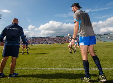Derek McGrath and Dan Shanahan on the sideline.