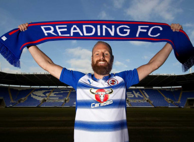 Reading announced the capture of the Cork native today.