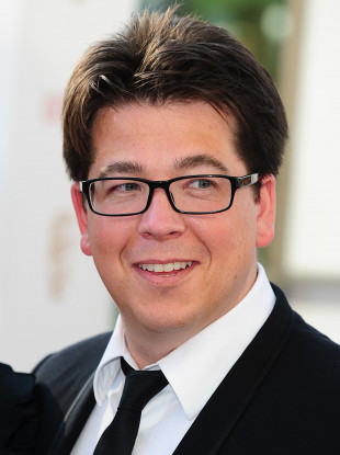 Comedian and TV presenter Michael McIntyre (42).