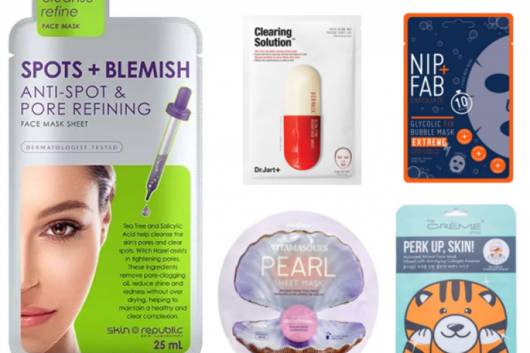 8 sheet masks under €8 that I am fully obsessed with · The