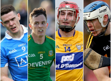 Fenton, McEntee, Duggan and Reid won the man-of-the-match awards over the weekend.