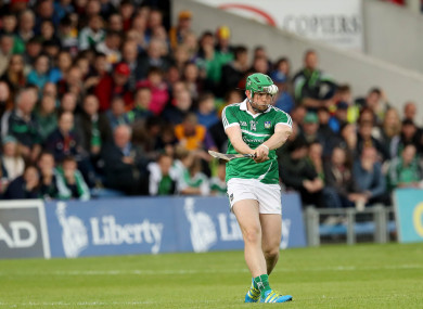 Shane Dowling of Limerick (file pic).