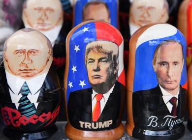 Trump and Putin (kind of).