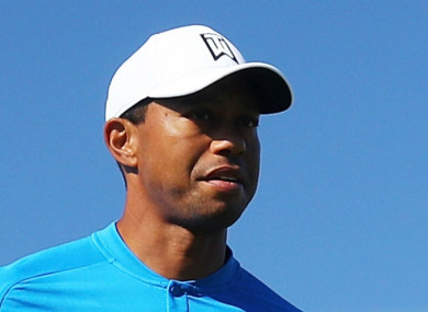 Tiger Woods has struggled early on at the US Open.