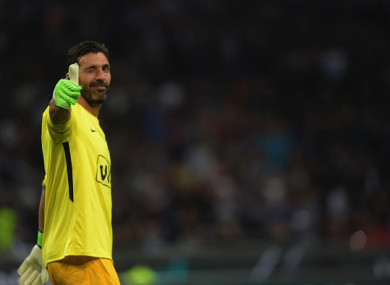 5504d75ad PSG complete the capture of Juventus legend Buffon on one-year deal