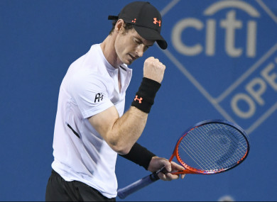 Former world number one Andy Murray