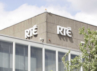 The RTÉ studio in Montrose.