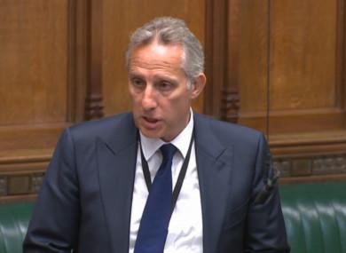 DUP MP Ian Paisley Jr