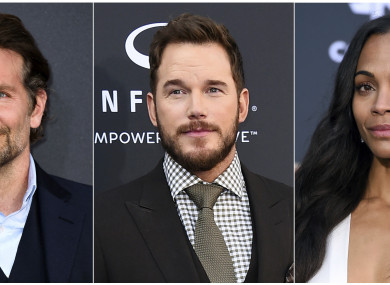 Bradley Cooper, Chris Pratt and Zoe Saldana are among those who have offered support to Gunn.