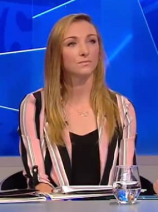 Louise Quinn has appeared on RTÉ's 2018 World Cup coverage.