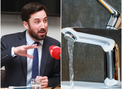 Minister Eoghan Murphy issued the latest water warning this evening.