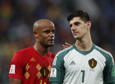 41c247801 Belgium s Courtois blasts France victory as  shame for football  · The42