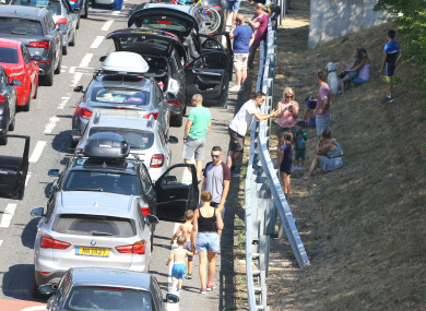 Motorists Stuck In Cars For Hours After Heat Delays Channel Tunnel