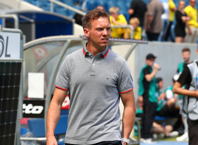 Nagelsmann will have one more season at Hoffenheim before taking over RB Leipzig.