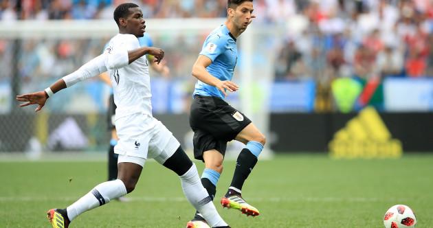 As it happened: Uruguay v France, World Cup quarter-final