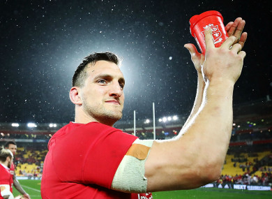 Former Wales captain Sam Warburton.
