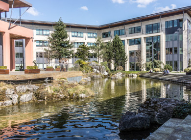 Part of the Citywest Business Campus