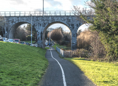 Nine Arches Bridge in Milltown.