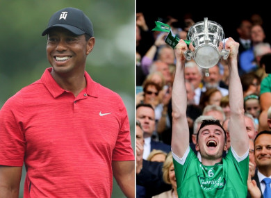 Tiger Woods has praised the achievements of Limerick.