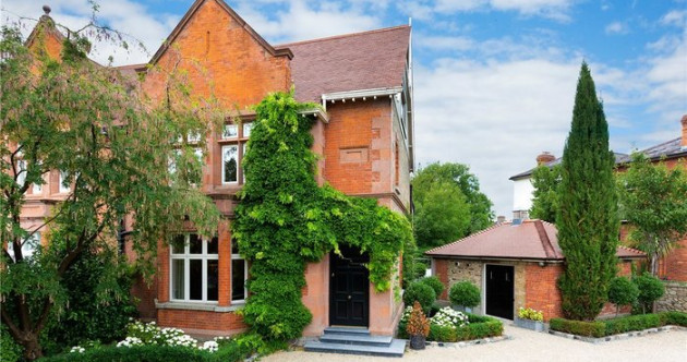 Period redbrick with its own jacuzzi for €2.7m in Sandymount