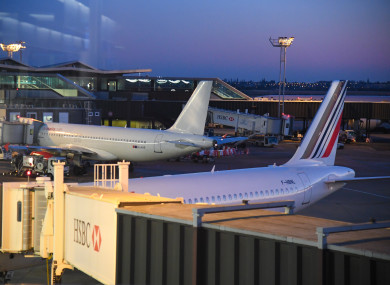 File Photo Paris Orly Airport