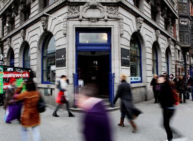 File: A permanent TSB bank.