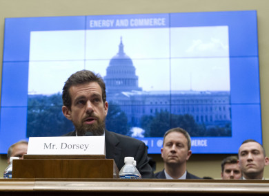 Twitter CEO Jack Dorsey testifies before the US Senate