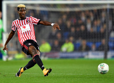 Ndong reported for duty today, and was sacked straight away.