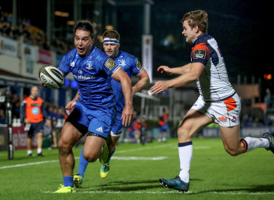 James Lowe scored Leinster's second try.