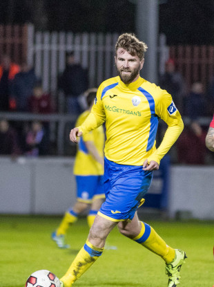 Finn Harps forward Paddy McCourt scored for the Donegal club on Saturday.