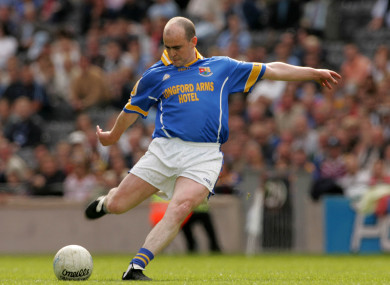 Davis was a star forward for Longford between 1995 and 2007.
