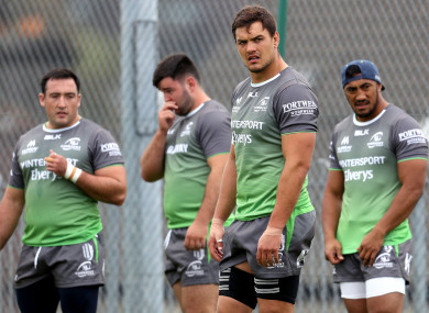 Quinn Roux returns to the starting XV for Connacht's clash with Zebre.