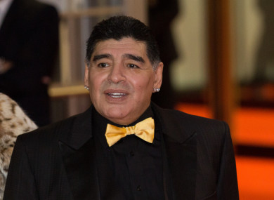 Diego Maradona Is A Manager Again The42