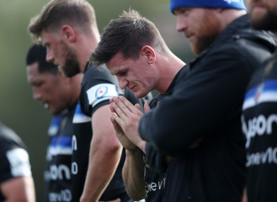 Devastated: Nightmare afternoon for Burns.