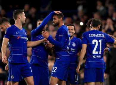 5ef8319f547 Loftus-Cheek stars with hat-trick as Chelsea coast to Europa League win