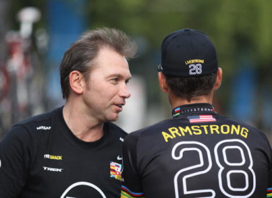 9b21a07b2 Lance Armstrong s former manager handed lifetime ban from cycling