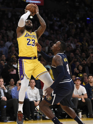LeBron: Lakers are now 2-3 after slow start.
